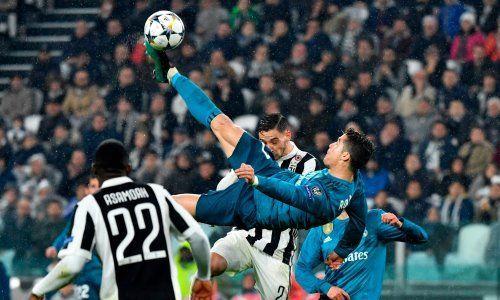 Фанаты «Ювентуса» встретили овацией супергол Роналду вворота Буффона