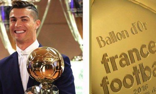 Роналду непосетит церемонию вручения «Золотого мяча»