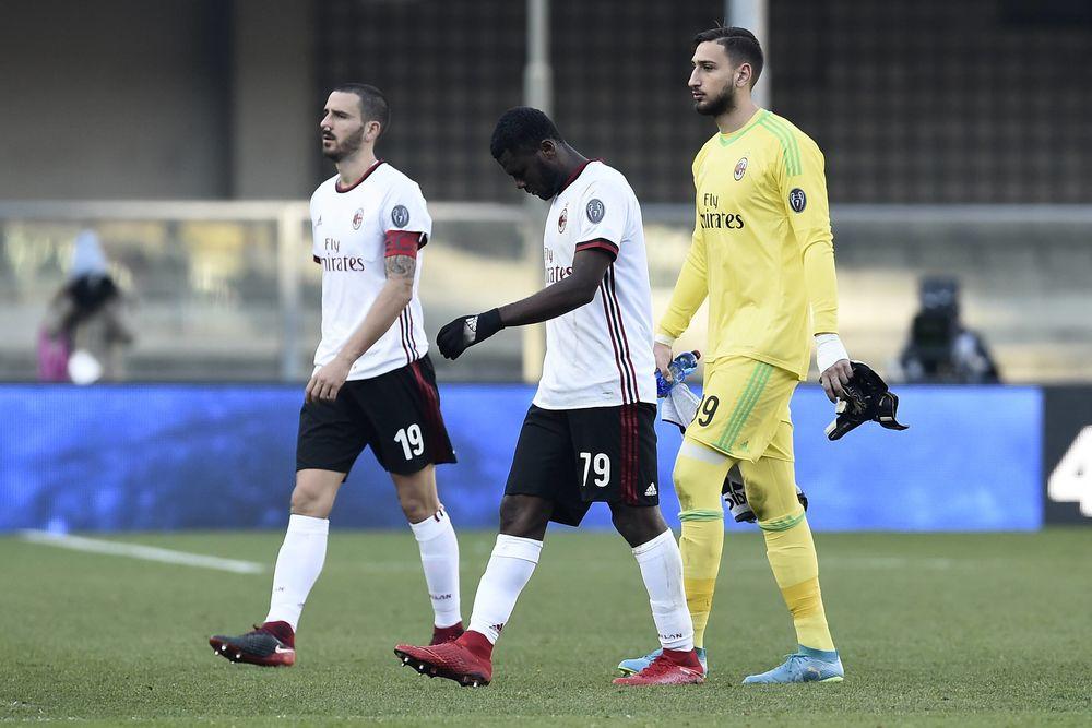 Главный тренер «Милана» хотел подать вотставку после разгромного поражения от«Вероны»