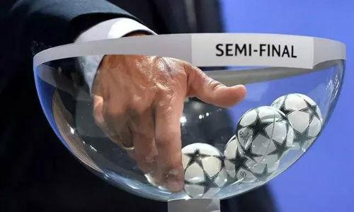 Определились полуфинальные пары Лиги чемпионов УЕФА