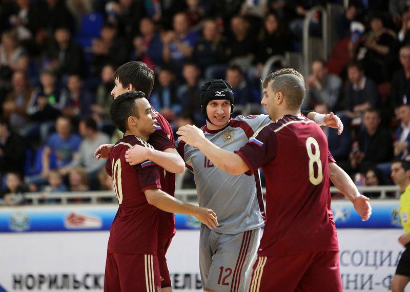 сборная россии по мини футболу на чемпионате мира 2016